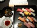 寿司盛合せと留椀