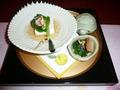 菊華荘の会席料理1