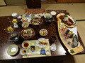 お部屋で豪華な夕食