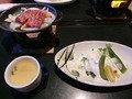 魚料理と茶碗蒸し