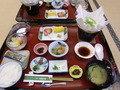 朝食の和食膳