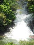 粟又の滝 増水中
