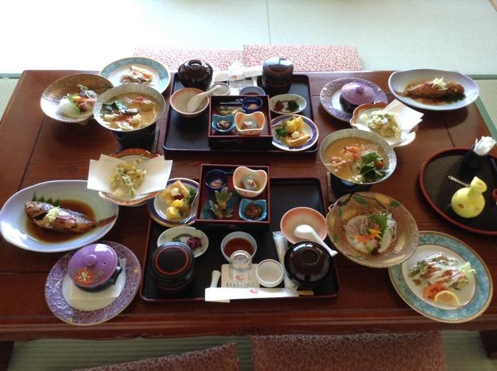 大満足の昼食