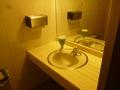 1階共用トイレの洗面スペース