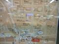 ホテルへの行き方(JR新宿駅中央西口改札口出てすぐの案内板)