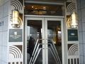 ホテルの正面玄関