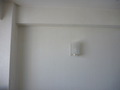 客室壁面の間接照明
