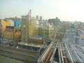 ホテルロビーからの眺望