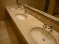 1階ロビー共用男子トイレの洗面ボウル