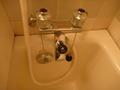 お湯の出はとてもよい。シャワー切り替えもスムース。
