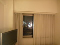 部屋の窓からみる夜景(街側)