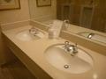 1階ロビーのトイレの洗面