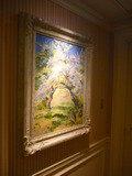 客室フロアの廊下の絵
