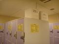 1階ロビー横のコインロッカーは200円と360円