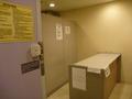 1階コインロッカールームは無人