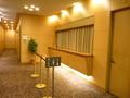 2階宴会場のクローク