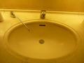 共用トイレの洗面ボウルは機能的