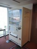 飲料自販機は客室階のエレベーターホールにあり