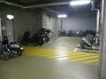 自転車、バイクの駐輪場