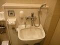 身障者用トイレの洗面の機能はひとまとめに