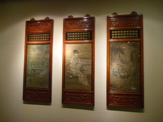 中華レストラン、王朝(3/3) 壁の絵画