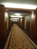 3階ブライダルフロアの廊下