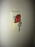 ルームキーを挿すと電気がつくタイプです