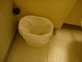 洗面所横のごみ箱