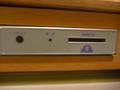 有料ビデオカードの挿入口