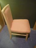 背もたれのついた椅子