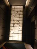 1階のホール天井