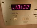 電子目覚まし時計