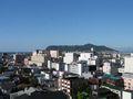 部屋から函館山がきれいに見えました。