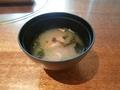 金目鯛のお味噌汁