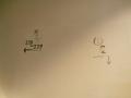 壁に書かれた案内図