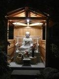 弘法大師の石像