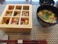 ちらし寿司とすまし汁