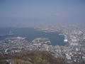 周辺の観光地 函館山からの風景(函館方向)