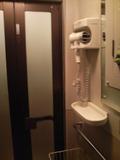 シャワー室脱衣所