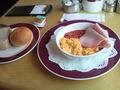 朝食(洋食)です。