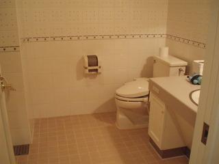 洗面ユニットとトイレ