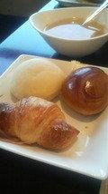 朝食のパンです。