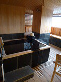 客室露天風呂です。