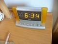 客室の目覚まし時計