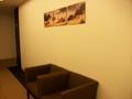 エレベータホールの壁側