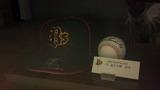 オリックスの金子選手の帽子とボール