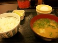 朝食(なか卯)
