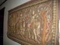 壁にあった木彫りの絵?