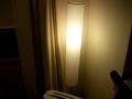 客室の照明(スタンド)