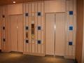 ロビー階のエレベーター